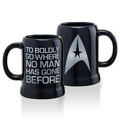 ThinkGeek :: Star Trek Logo Mug 20oz