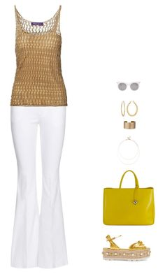 """summerweathe"" by candynena228 ❤ liked on Polyvore featuring Gucci, Tom Ford, Ralph Lauren, Sole Society, Furla, Panacea, Fragments and Alexander McQueen"