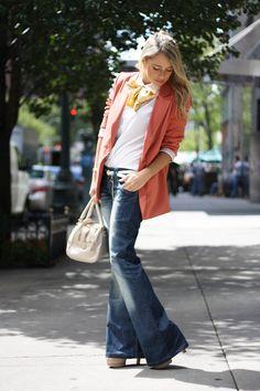 Dark Bell Botton Jeans - $23.00