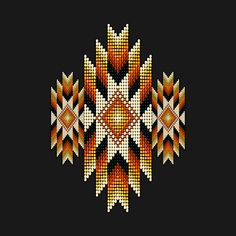 Check out this awesome 'Golden+Orange+Native+American+Style+Sunburst' design on @TeePublic!