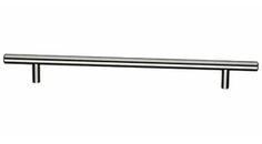 """Top Knobs - M432 - Hopewell Bar Pull 8 13/16"""" (c-c) - Brushed Satin Nickel - Bar Pulls Collection"""