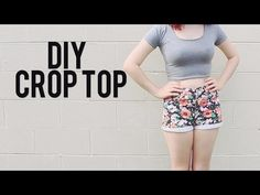 DIY Crop Top - make one for my retro pants