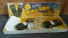 Vintage corgi/mettoy military walkie-talkie   eBay