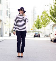 Nina Campioni at Elle is wearing Prada shoes, Gant originals pants, sweater from Line of Oslo and hat from Melrose Flea Market. For more fun fashion, welcome to my blog!