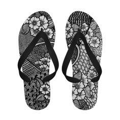 Flip Flops mit Blumen Flip Flops, Sandals, Shoes, Fashion, Unique Gifts, Flowers, Moda, Shoes Sandals, Zapatos