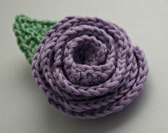 conHilos: Flores de crochet