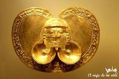 Aunque pueda parecer increíble este era el aspecto de los jefes de las tribus #precolombinas. #Oro #MuseoDelOro #Museo #Bogotá #Bogota #Colombia #Cultura #Precolombino #Tradición #Gold