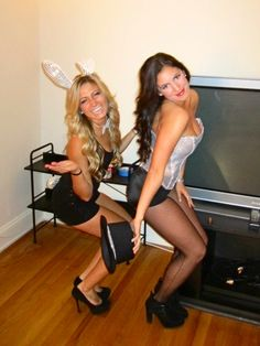 Magician and her bunny.