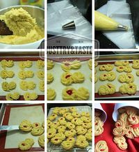 Resep Kue Semprit Garing Pecah Di Mulut Resep Makanan Penutup Resep Biskuit Resep Kue