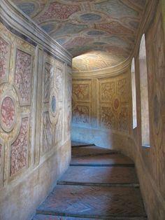 Ancient Passage, Mantova, province of Mantua , Lombardy region Italy