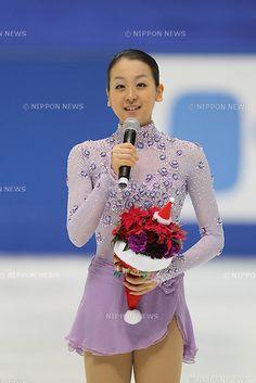 Mao Asada, DECEMBER 25, 2011 - Figure Skating : All Japan Figure Skating Championship 2011, Press conference at Namihaya Dome, Osaka, Japan. (Photo by Akihiro Sugimoto/AFLO SPORT) [1080]