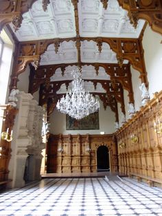 the Great Hall, Harlaxton