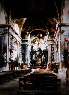 Paul Dmoch     ·  Intérieur, Scalzi, Venise 115 x 89