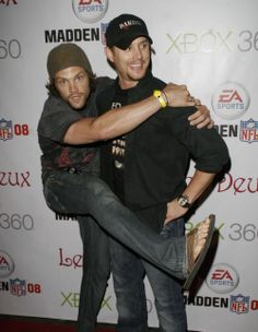 Jared and Jensen <3.   #bromance