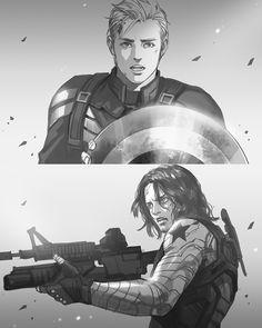 Steve vs Bucky