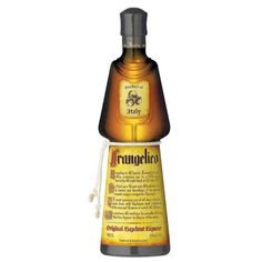 Frangelico Hazelnut Liqueur, 20% ABV - 70cl Bottle | Italy | Buy online by the bottle from Hic! Wine Merchants
