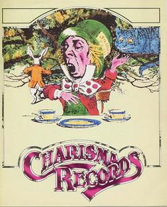 Cover of Charisma Records catalogue, 1975.