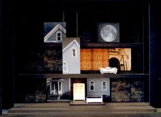Stage Design. Interesting Concept... Glass Menagerie might be cool like this.