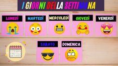 I giorni della settimana in italiano - italian days of the week The Creator