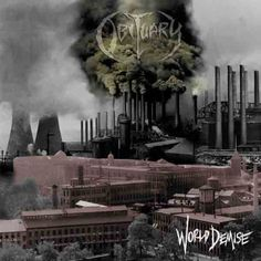 Obituary, World Demise: What do you get when you cross unintelligible lyrics sung by a vocalist that sounds like a hungry tiger vomiting and uninspired guitar riffs that are mixed with the occasional 80s glam metal solos (on speed of course) along with the most rigid rhythm track this side of techno? You get Obituary's fourth album. I've listened to a couple of their other albums, but though I didn't like them, I didn't actively hate them. I can't say that about this chaotic mess. 10/28/14
