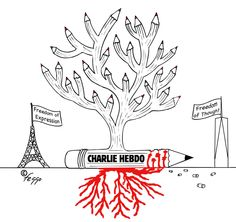 Homage to Charlie Hebdo