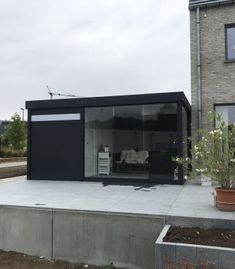 Aanbouw carport met tuinschutsels aluminium   Metallooks   Carports ...