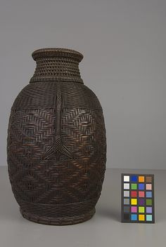 Basket   19th century    Japan   Bamboo, rattan