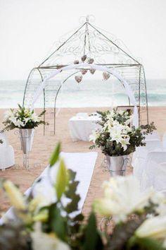 Beach Wedding Venues in South Africa Wood Wedding Decorations, Beach Wedding Centerpieces, Rustic Wedding Venues, Wedding Reception Venues, Best Wedding Venues, Wedding Arches, Wedding Ideas, Receptions, Wedding Flowers