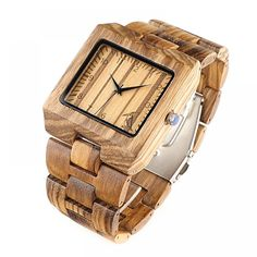 Square-Shaped Zebrawood Color Bamboo Men's Watches Price: US $50.38 & FREE Shipping 🤔 🤔🤔 Curious about eco-friendly products? 🌿🐼🐾 Want to make a difference? 💃🕺😺 Then be part of the solution 💚✅🌌 don't be part of the problem 💩⚡📴 #zerowaste #sustainable #noplastic #eco #ecofriendly #reusable #plasticfreejuly #vegan #sustainableliving #reuse #gogreen #zerowastehome #sustainability #environment #stasherbag #nowaste #zerowastelifestyle #plantbased #recycle #plasticpollution #wastefree… No Waste, Skulls And Roses, Wooden Watch, Watches For Men, Men's Watches, Body Jewelry, Bamboo, Fashion Accessories, Quartz