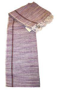 Geniální indický ručník gamša fialový ga243