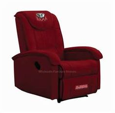 Alabama Crimson Tide Recliner By Team Recliners Dc Product Code Sku Tr