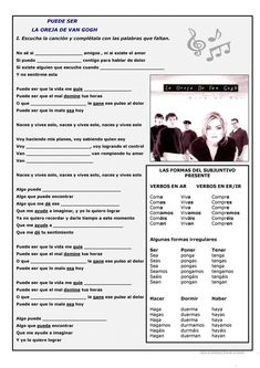 Spanish Basics: How to Describe a Person's Face Spanish Worksheets, Spanish Teaching Resources, Spanish Activities, Spanish Language Learning, Learn Spanish Free, Spanish Lessons For Kids, Spanish Basics, Spanish Songs, Ap Spanish