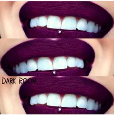 Melt Cosmetics Dark Room lipstick. I have this! It's such a pretty red wine shade! Another perfect fall shade!