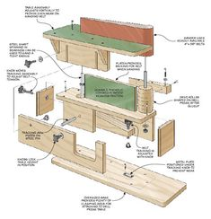 Use the power of your drill press to smooth out the rough edges on your project workpieces. Woodworking Workshop, Woodworking Projects Diy, Woodworking Jigs, Woodsmith Plans, Diy Easel, Drill Press Table, Construction Tools, Homemade Tools, Work Tools