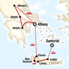 """15 day """"Best of Greece"""" tour from Lonely Planet (good for milking itinerary ideas)"""