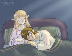 I only like Zelda+Link in Skyward Sword game :)
