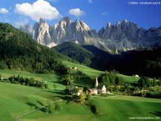 Trentino-Alto Adige - Northeast Italy. Watch videos at http://www.miraedestino.com/zildabrandaoh.cfm?id=3338#topo