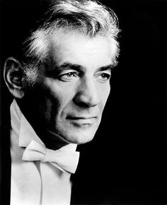 """Leonard Bernstein was born in Lawrence, MA from Russian Jewish parents. Bernstein studied music at Harvard University and had a distinguished career as a conductor, composer, music lecturer and pianist. In Listen to the """"Chichester Psalms"""". West Side Story, Classical Music Composers, Amadeus Mozart, Leonard Bernstein, Theatre Reviews, Johnny Cash, Dubstep, Conductors, Art Music"""