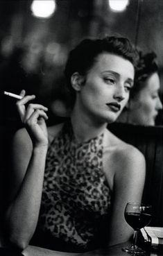 Marie-Sophie Wilson by Peter Lindbergh - Paris ,1989