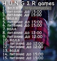 Диета голодные игры hunger games