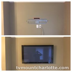 Our professional commercial TV installation team provides expert flatscreen television and monitor wall mounting and wiring services throughout North and South Carolina. We have encountered every situation possible over our years of experience and are capable of handling any commercial flatscreen tv installation