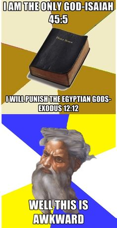 Awkward God is awkward.
