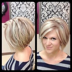 Cute Layered Bob: Short Hairstyles for 2014 - 2015
