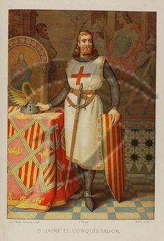 Jaume I el conquistador.