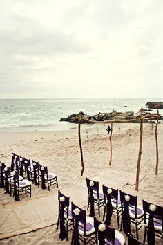 Rustic Puerto Vallarta ceremony.