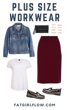 Got a big presentation? Need to look in control of your work situation but also make sure you'll be warm in the office? A classy skirt is the perfect addition to your capsule wardrobe because Maternity Capsule Wardrobe, Plus Size Capsule Wardrobe, Casual Maternity Outfits, Fat Fashion, Plus Size Fashion, Curvy Fashion, Woman Fashion, Stylish Plus, Trendy Plus Size