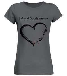 I'm a simple woman - heart2 - Badminton (Round neck T-Shirt Woman - Charcoal) #home #workouts #cooking badminton funny, badminton party, badminton outfit, back to school, aesthetic wallpaper, y2k fashion Badminton Tips, T Shirts, Neck T Shirt, Back To School, Gardening Tips, Simple, Workouts, Charcoal, Stuff To Buy