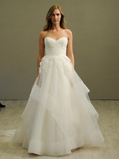 Jim Hjelm tulle ball gown wedding dress from Spring 2016