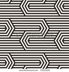 Vector seamless pattern. Modern zigzag texture. Repeating geometric background with linear grid.