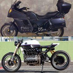 Prima e dopo LaDini BMW K1100